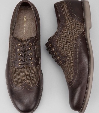 shoes menswear brouges oxfords smart casual fashion