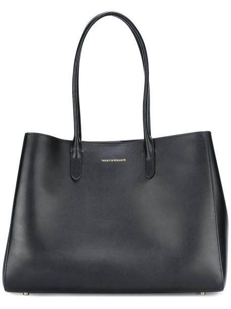 Tammy & Benjamin women leather black bag