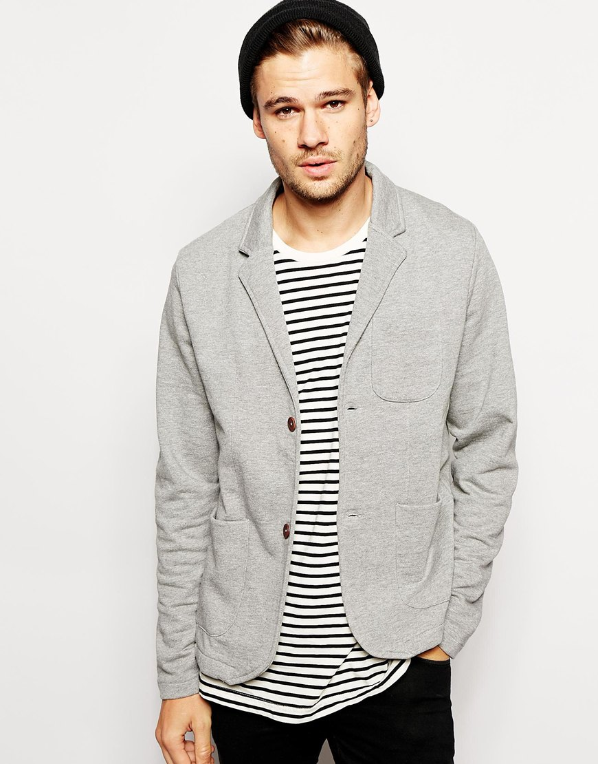 Selected Jersey Blazer at asos.com