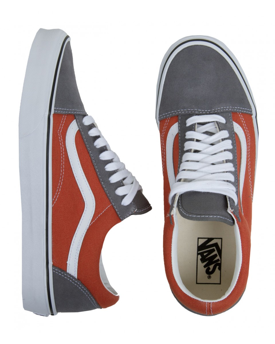 Vans Old Skool Shoes- (Golden Coast) Rust/Smoked Pearl I Sundancebeach.com
