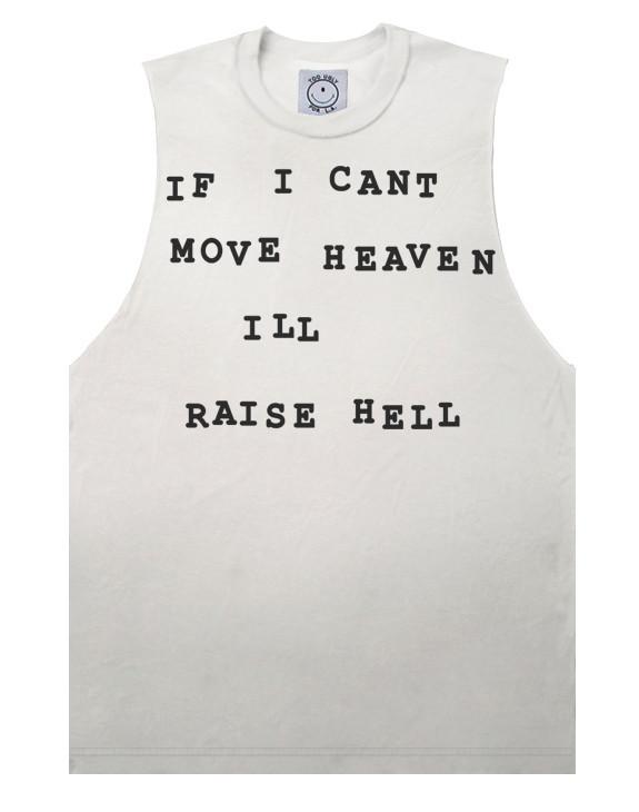 Raise hell tee (sleeveless)