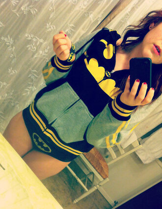 jacket clothes fabulous dc dc comics cute jacket batman tumblr clothes