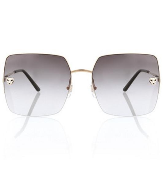 Cartier Eyewear Collection Panthère de Cartier sunglasses in gold