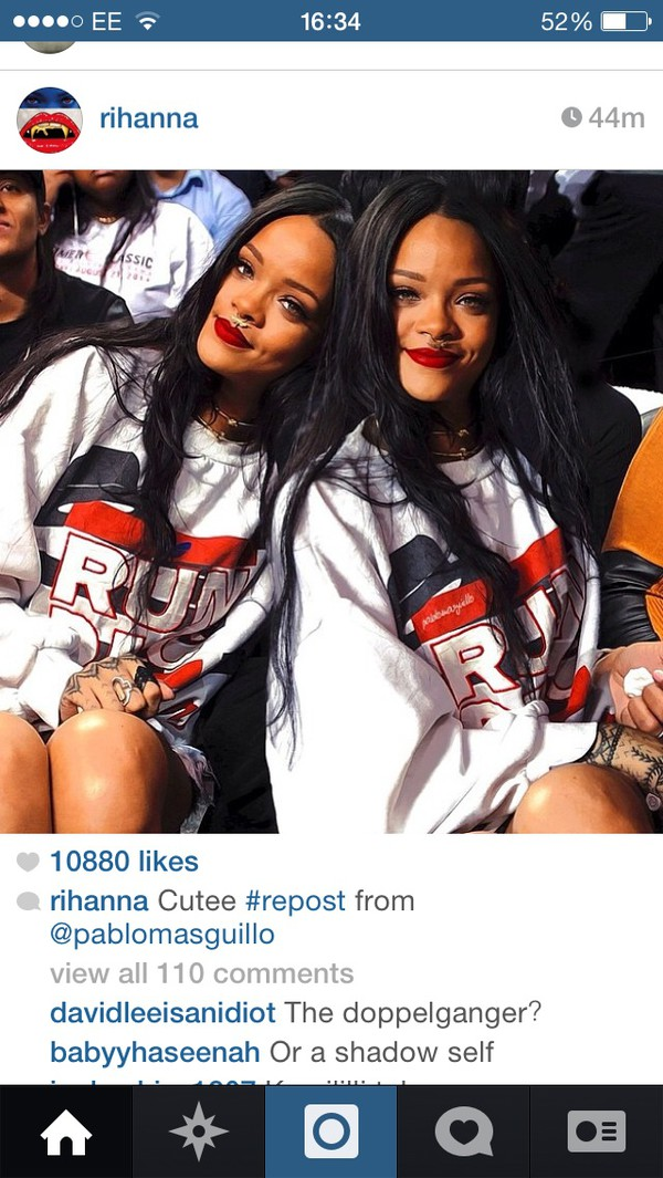 rihanna run dmc sweater