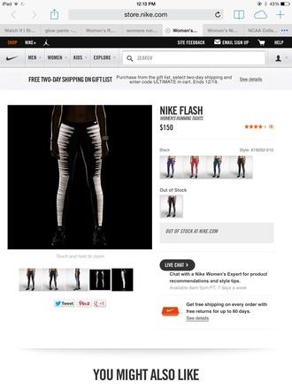 leggings nike flash black women.