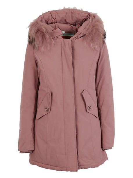 Freedomday parka pink coat
