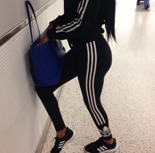 ec008847dd6828 jacket, sneakers, adidas, tracksuit, black, black jacket - Wheretoget