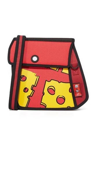 bag shoulder bag red