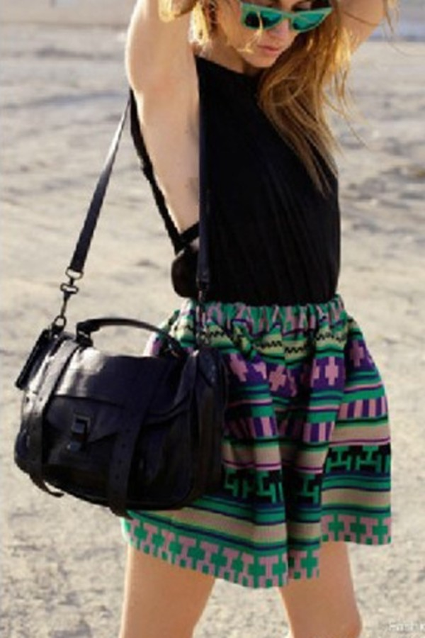 bag black bag fashion fashion bag skirt