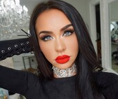 jewels,carli bybel,jewel choker,boho,choker necklace,embellished,top,black,black top,long sleeves,long sleeve crop top,lace up,lace up top,celebrity,celebrity style,celebstyle for less,holiday season,new year's eve,classsy,classy,cute,girly,date outfit