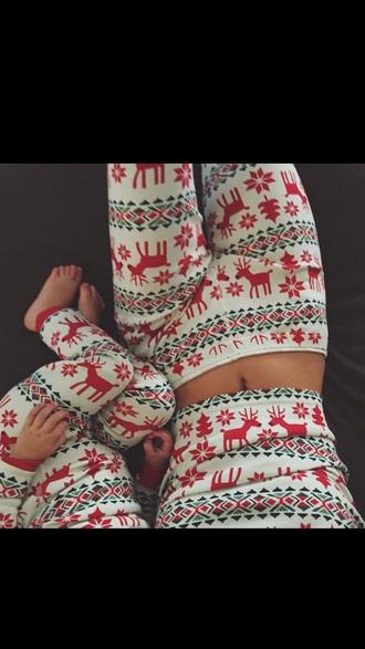 pajamas kendall jenner christmas