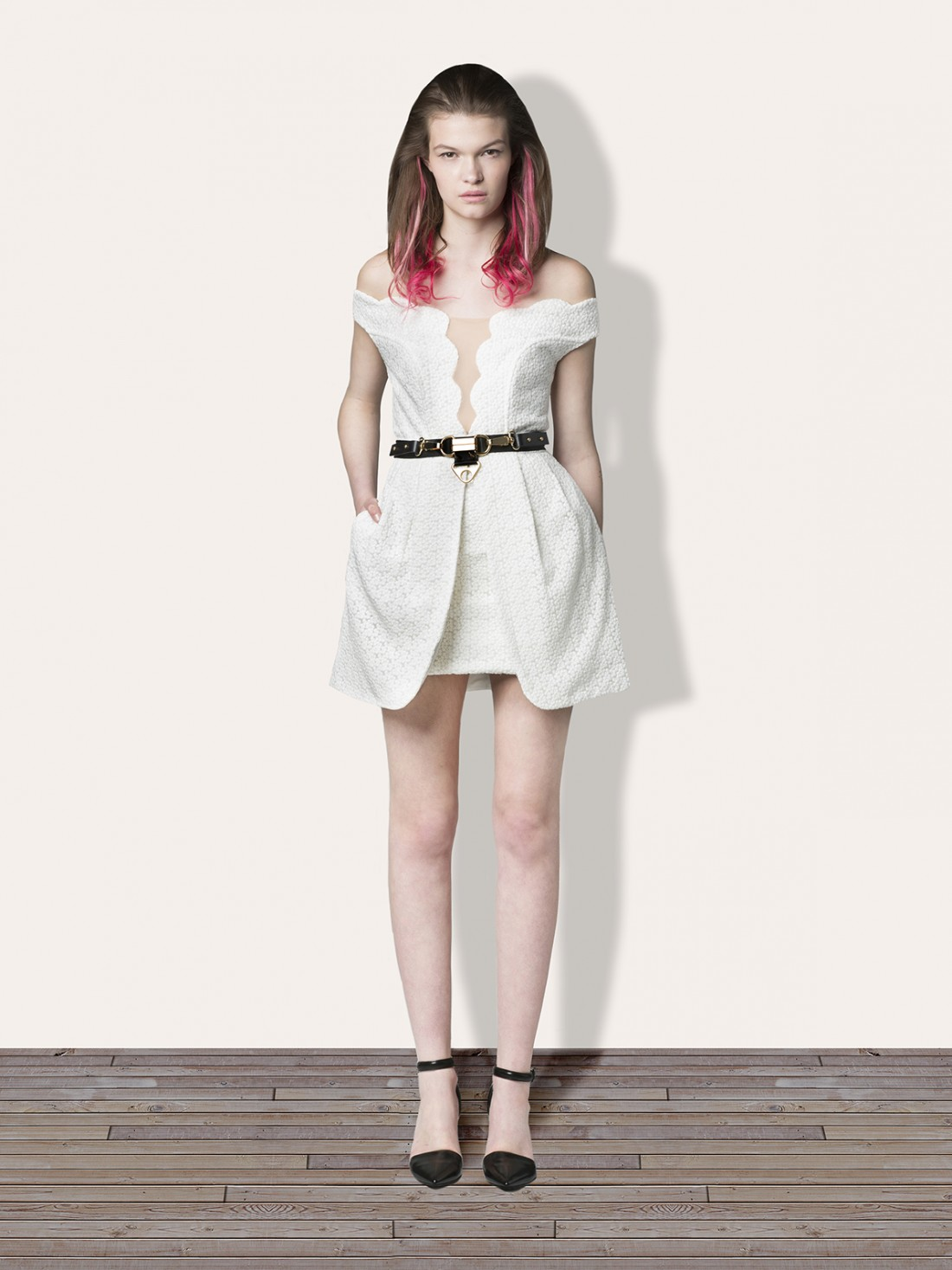 WHITE OUT Dress - Dresses Three Floor Fashion