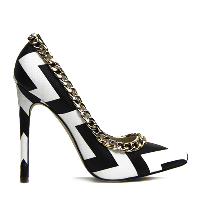GET TO THE POINT Chevron Pump – FLYJANE