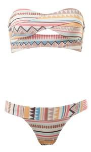 Bnwt atmosphere aztec bandeau bikini set available in uk 8 10 12 14
