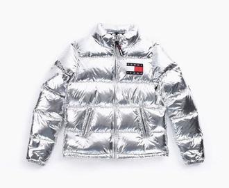 coat tommy hilfiger metallic