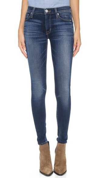 jeans skinny jeans gold blue