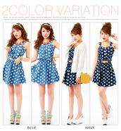 blouse,dress,dreamvs,polka dots,girly