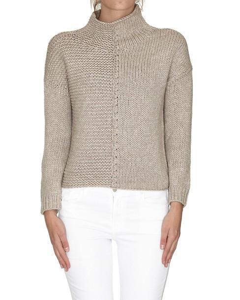 pullover beige sweater