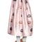 Iris printed duchesse skirt