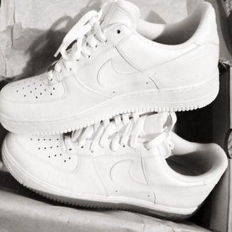 shoes nike white trainers high tops