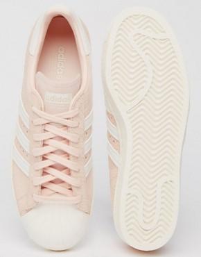 adidas Originals Blush Pink Superstar 80'