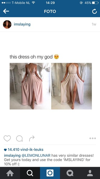 dress pink prom dress taupe pink dress gown long prom dress american music awards party dress instagram