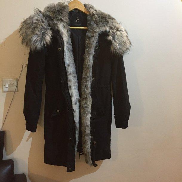 coat fur fur coat parka down jacket