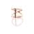 Zoe Chicco  — 14k short fringe necklace