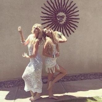 dress white dress vanessa hudgens hippie boho gypsy hippie clothing bohemian coachella shortdress