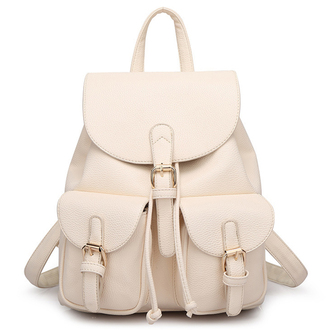 bag backpack neutral fashion nude beige back to school style boogzel