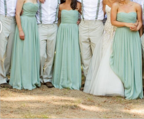 dress mint green bridesmaid dress long bridesmaid dress long evening dress long party dress mint green evening dress mint green party dress long evening dress long party gown 2014 evening dress 2014 party dress party dress evening dress 2014