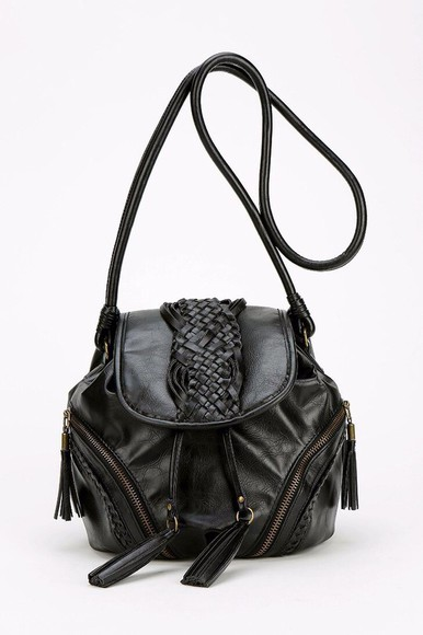 bag vegan leather zipper