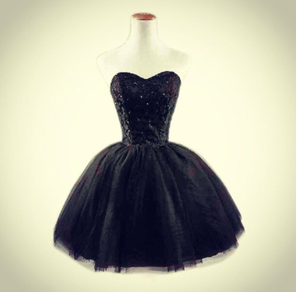 black jewels prom dress little black dress black glitter prom dresses /graduation dress .party dress