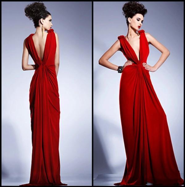 red dress maxi dress dress