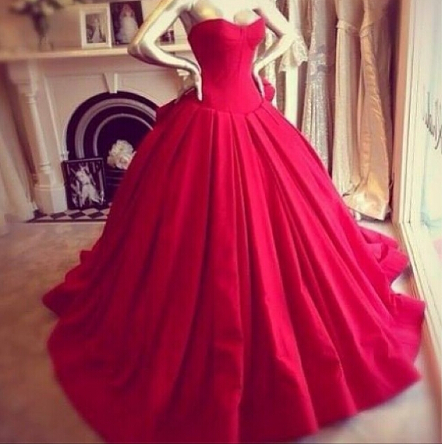 Red wedding dresses bridal gowns homecoming dresses · eveningdresses · online store powered by storenvy