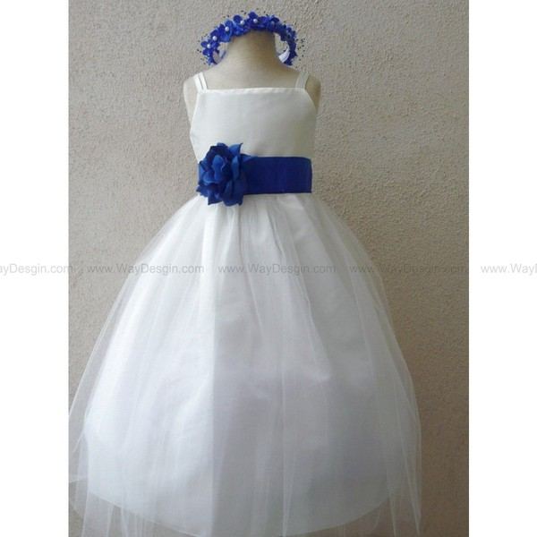 flower girl dress ivory tulle dress