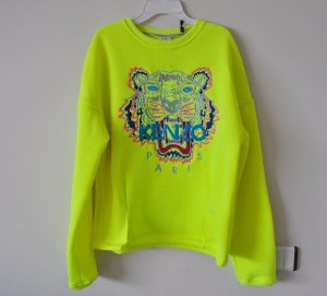 "Amazon.com: Kenzo ""Tiger Fever"" Embroidered Spring/summer - Neon: Clothing"