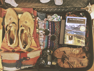 shoes clothes indie native american boho sunglasses camera book aztec hipster