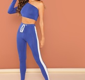 jumpsuit,girly,girl,girly wishlist,blue,two-piece,crop tops,cropped,crop