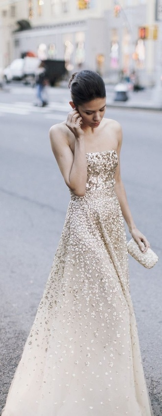 formal golddress formaldress prom dress eveningwear