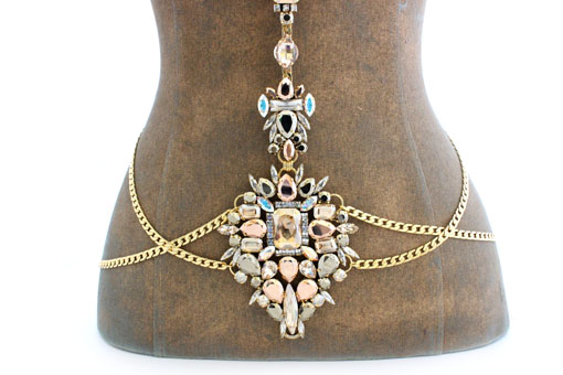 Emmanuele - Necklaces - GOLDEN DREAM BODY JEWELLERY