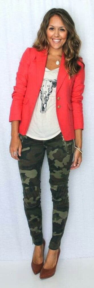 jacket coral jacket blazer