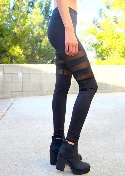 black leggings black leggings black mesh mesh mesh leggings black mesh leggings mesh panel mesh panels mesh paneled