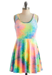 colorful,color/pattern,fancy,hippie,dream,retro,dress,tie dye,summer dress,beach,summer,style,cool,hipster