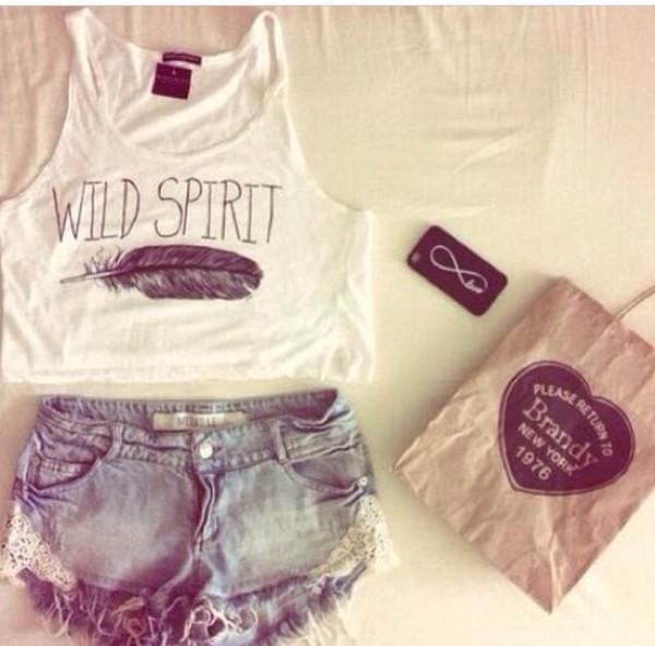 shirt tank shirt shorts t-shirt