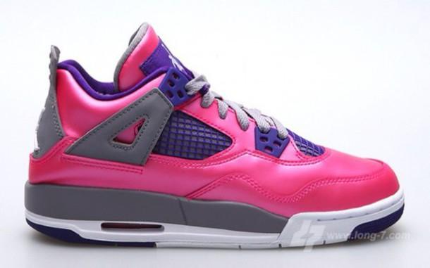 shoes pink shoes style jordans jordans