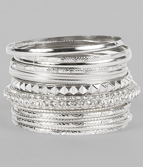 BKE Glitz Bracelet Set - Women's Accessories | Buckle