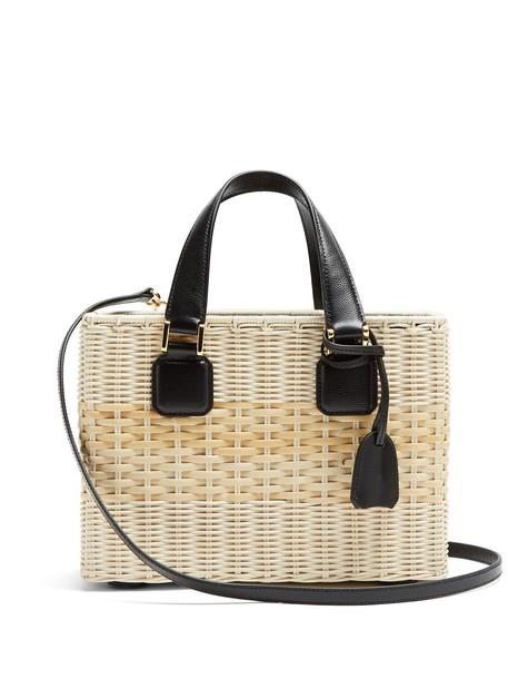 Mark Cross bag basket bag black