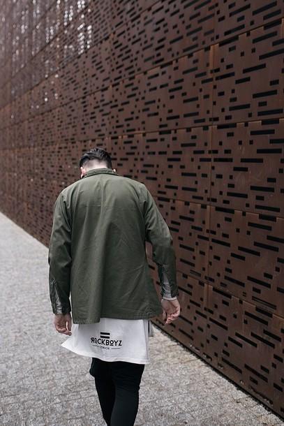 t-shirt coat jacket nike tumblr blvck supreme t-shirt hood by air menswear urban menswear