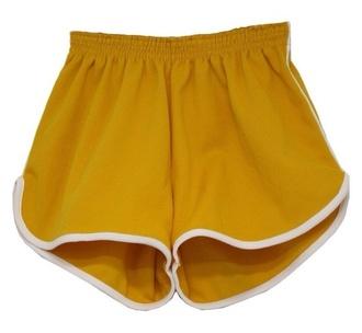 shorts yellow yellow shorts gold vintage vintage shorts